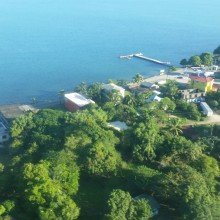 Belize- view of PG from the sky